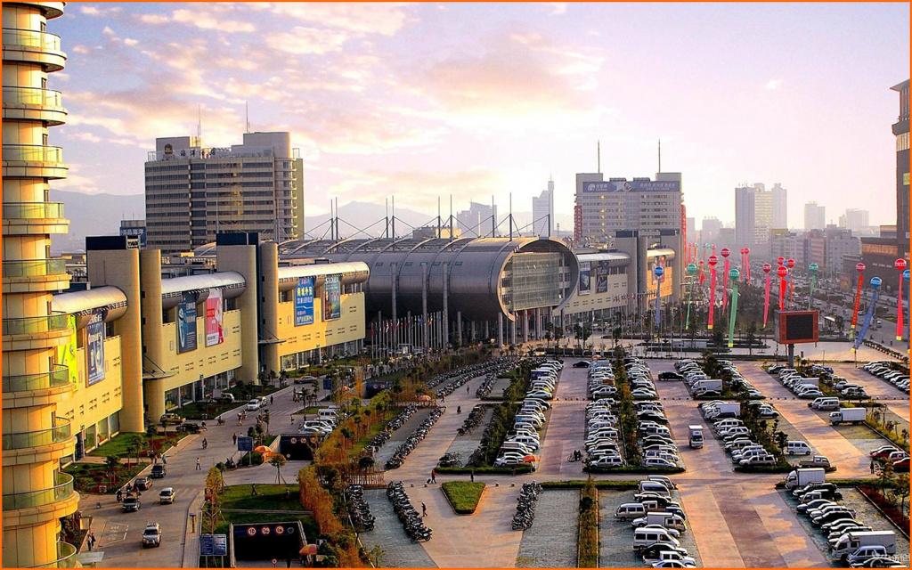 Футьен, крупнейший международный оптовый рынок в Китае